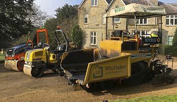 Whittake Paving Commercial Vehicle Fleet